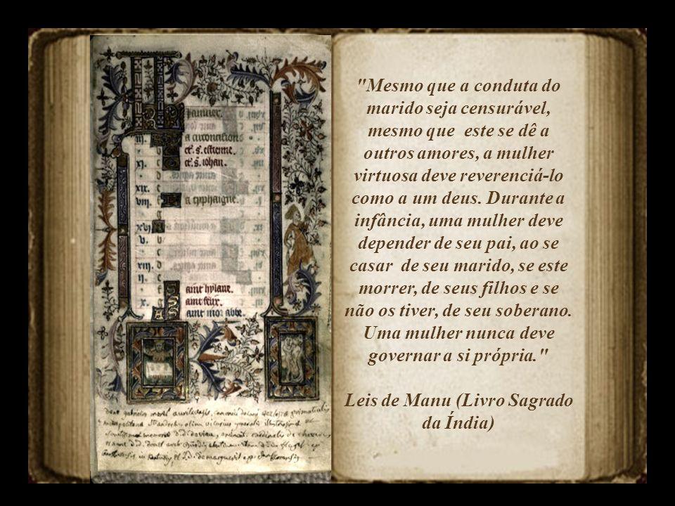 Leis de Manu (Livro Sagrado da Índia)