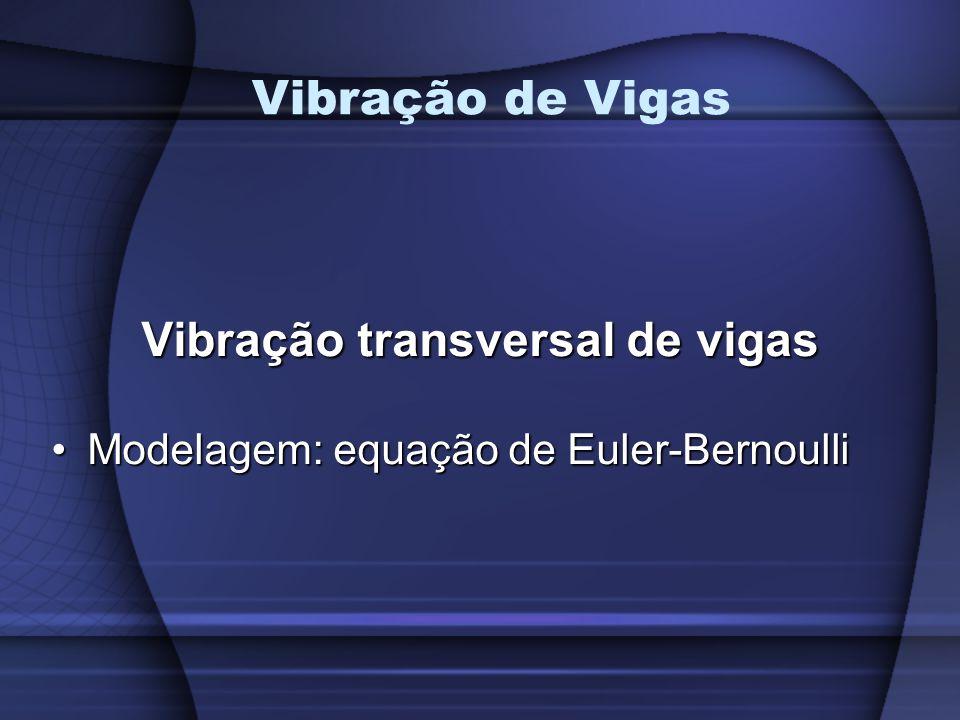 Vibração transversal de vigas