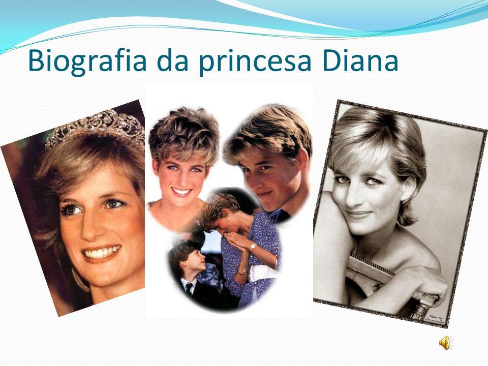 Biografia da princesa Diana