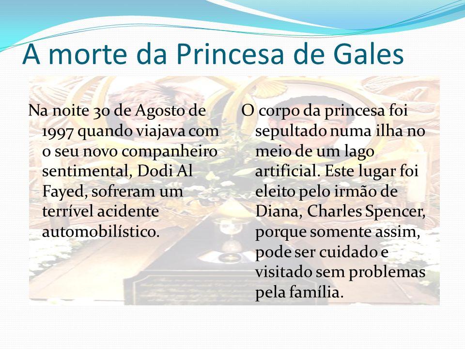 A morte da Princesa de Gales