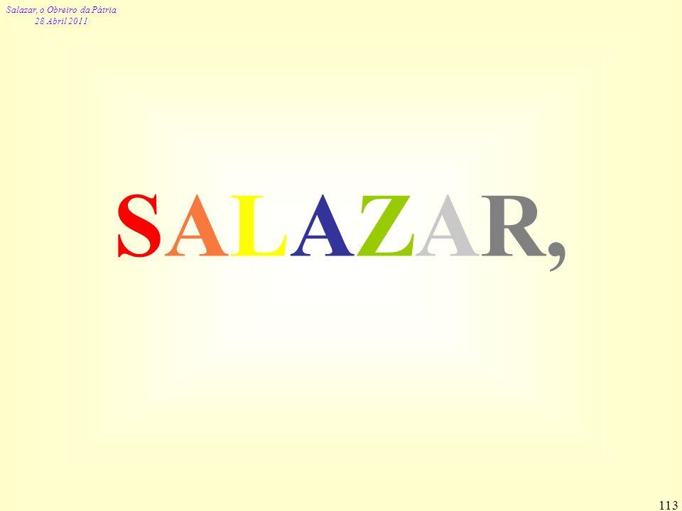 SALAZAR,