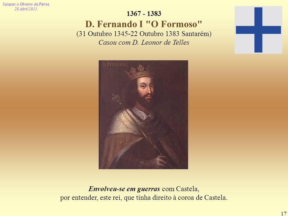 Envolveu-se em guerras com Castela,