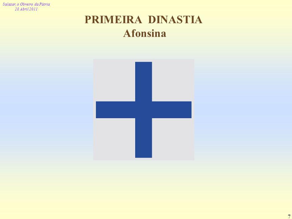 PRIMEIRA DINASTIA Afonsina