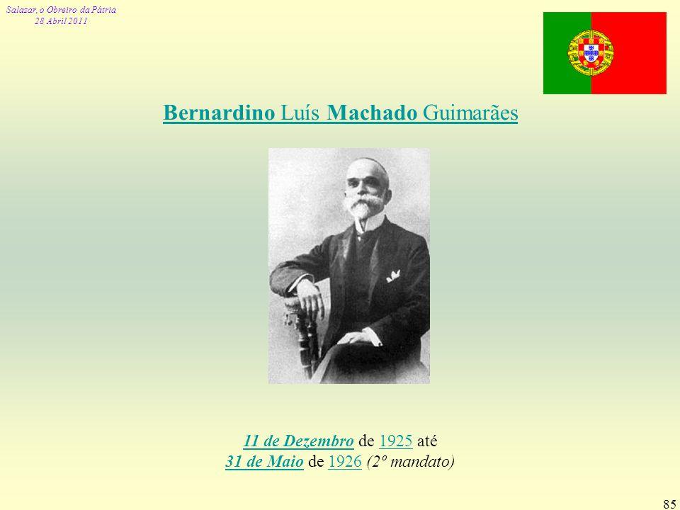 Bernardino Luís Machado Guimarães