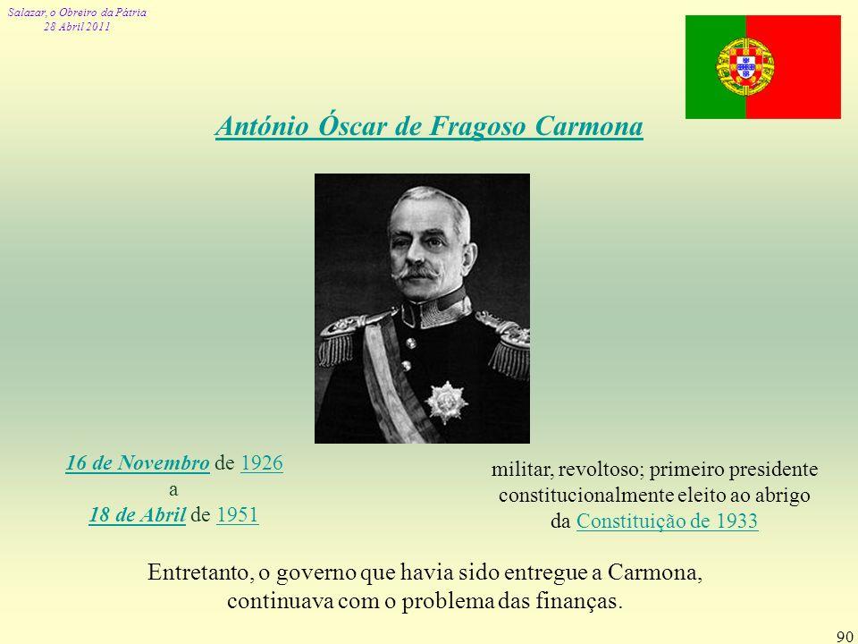 António Óscar de Fragoso Carmona