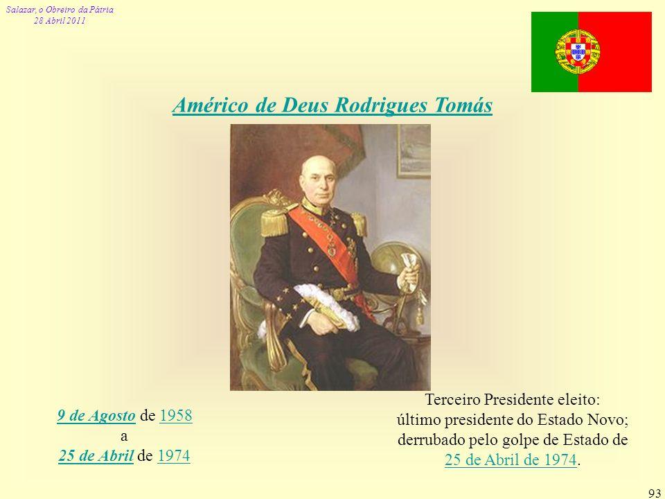 Américo de Deus Rodrigues Tomás