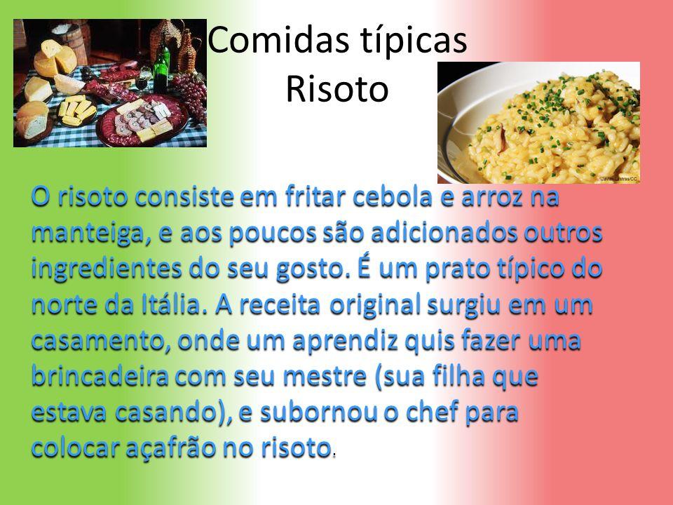 Comidas típicas Risoto