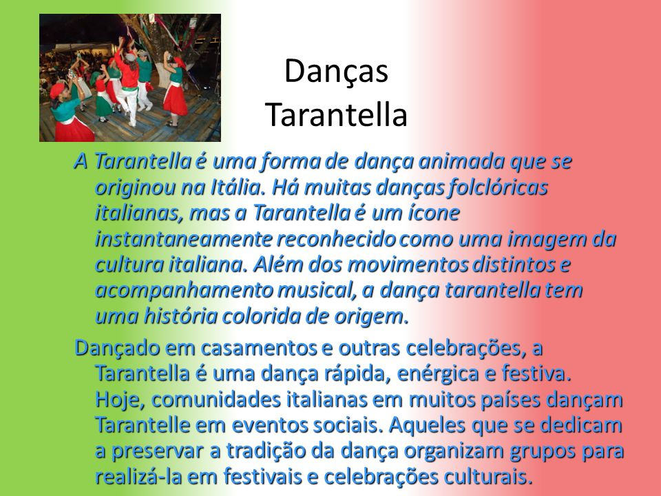 Danças Tarantella