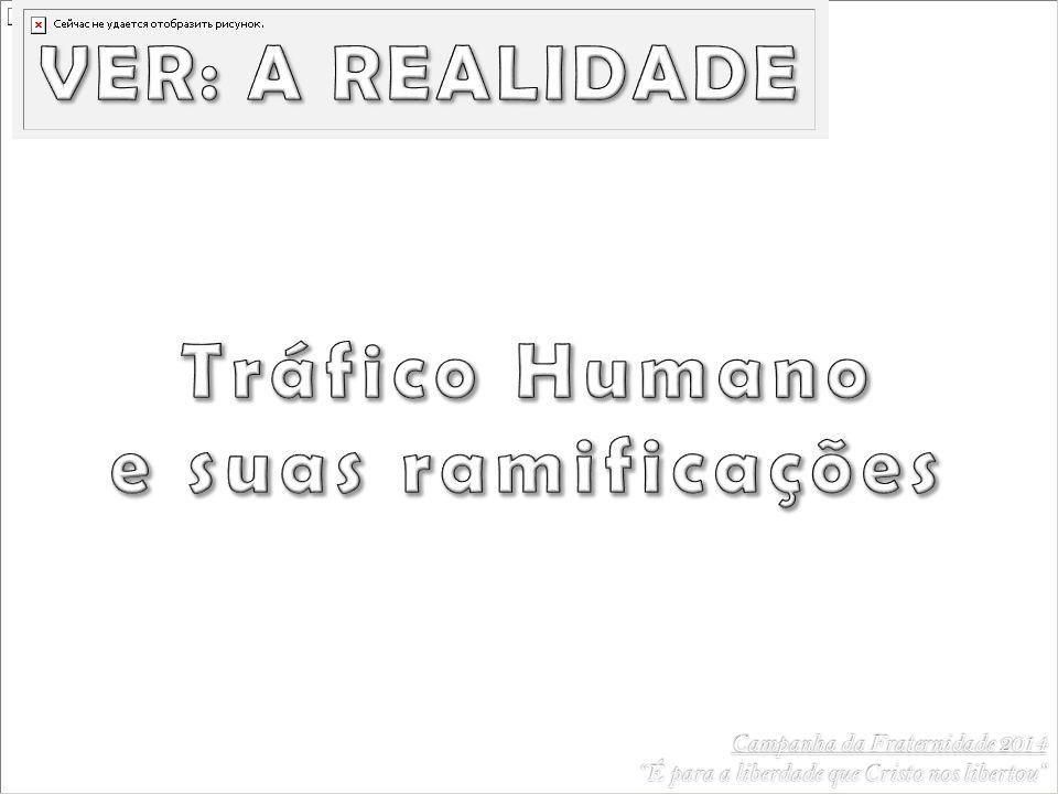 VER: A REALIDADE Tráfico Humano e suas ramificações