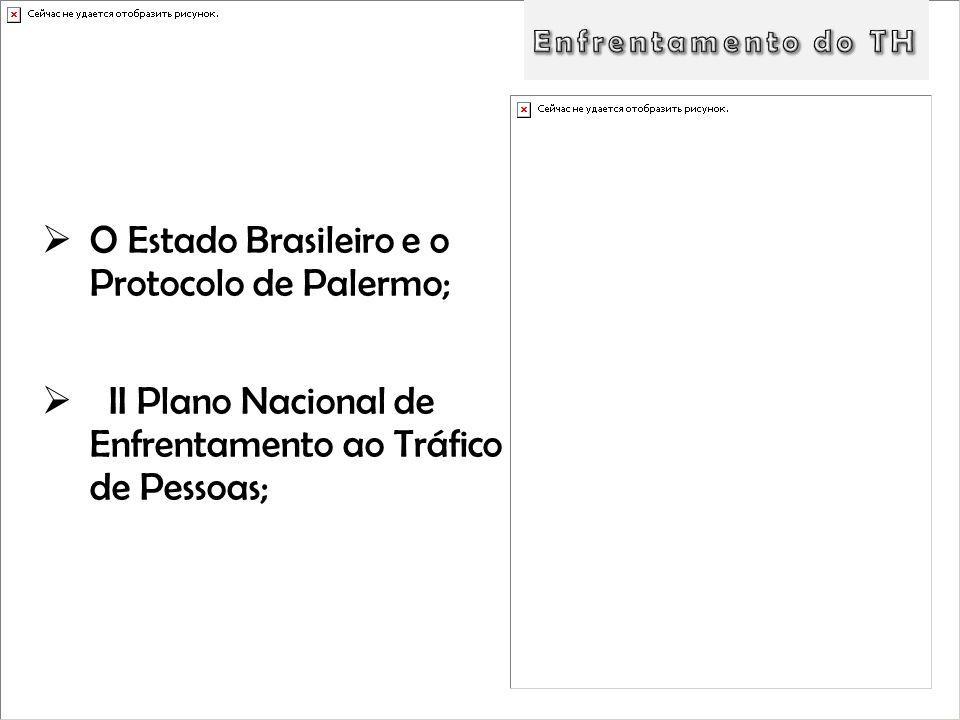 O Estado Brasileiro e o Protocolo de Palermo;