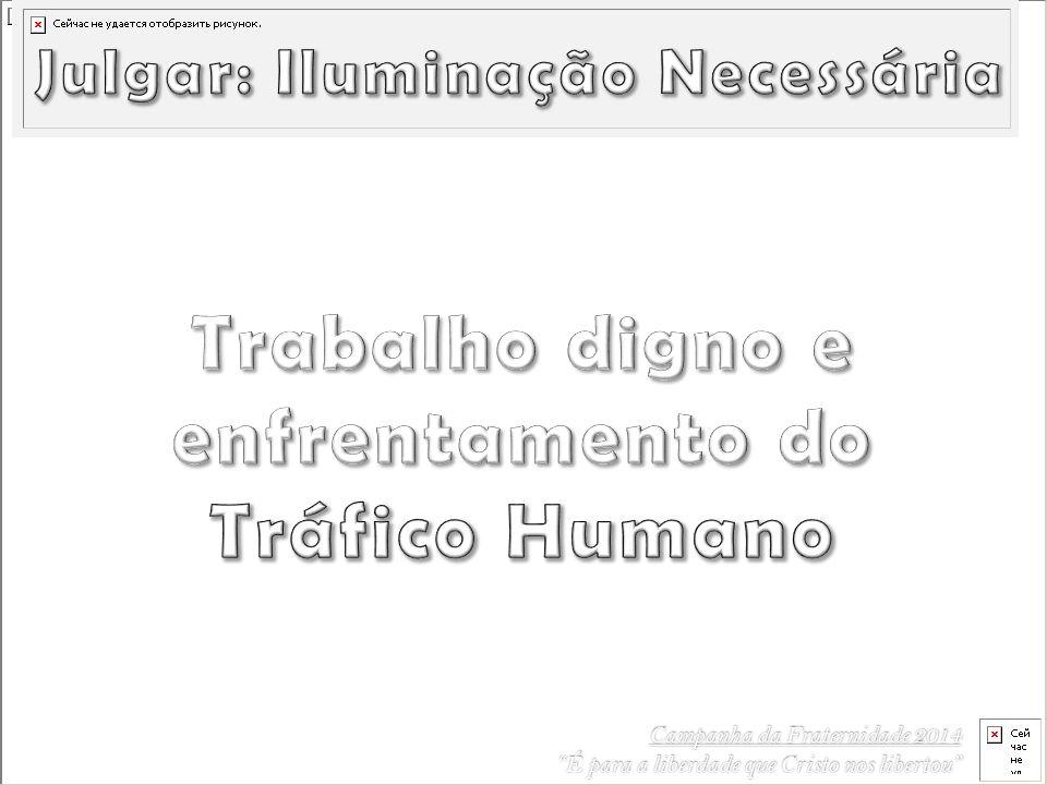 Trabalho digno e enfrentamento do Tráfico Humano