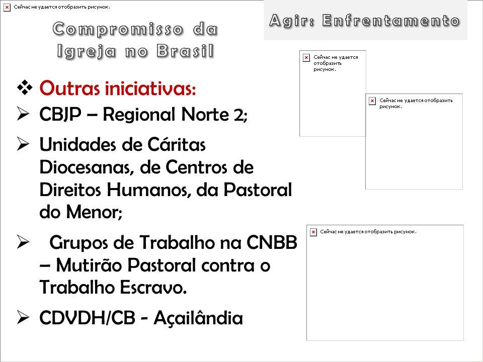 Outras iniciativas: CBJP – Regional Norte 2;