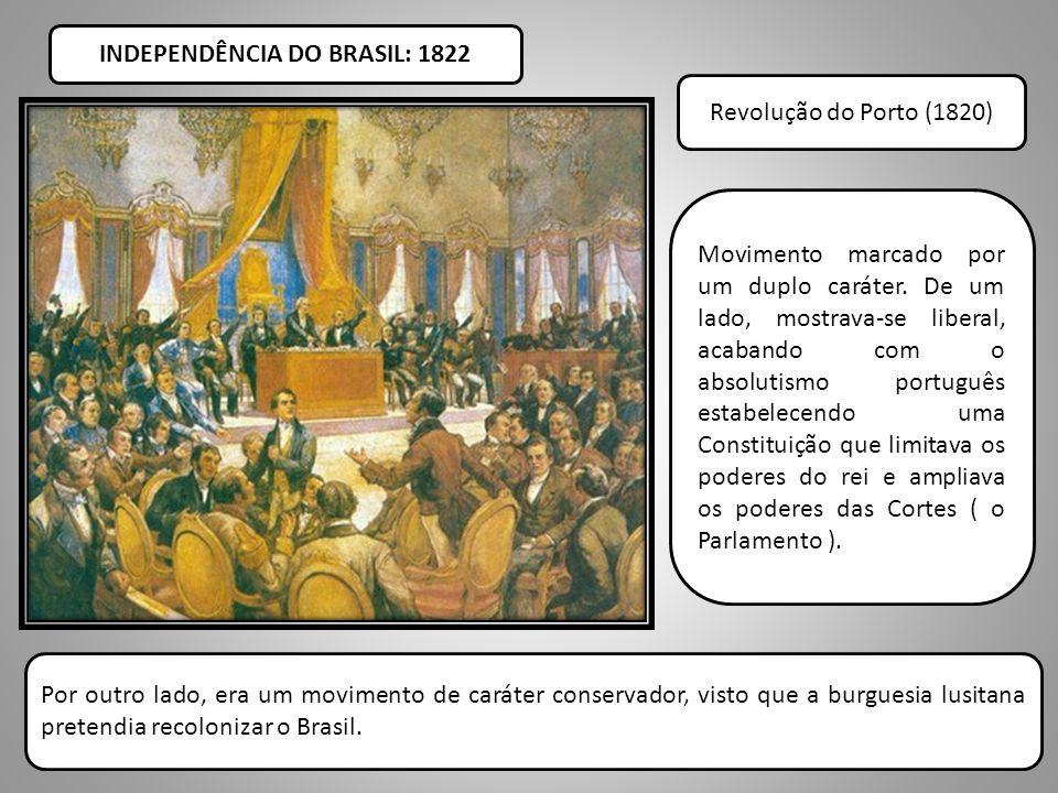 INDEPENDÊNCIA DO BRASIL: 1822