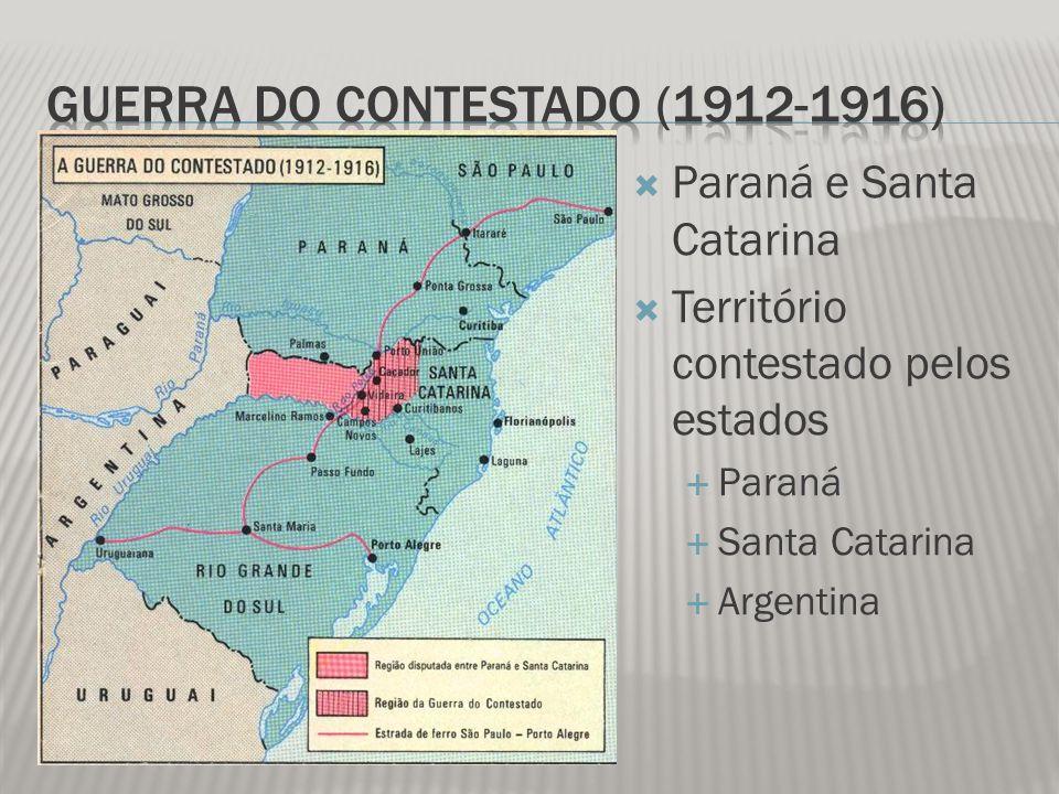 Guerra do Contestado (1912-1916)
