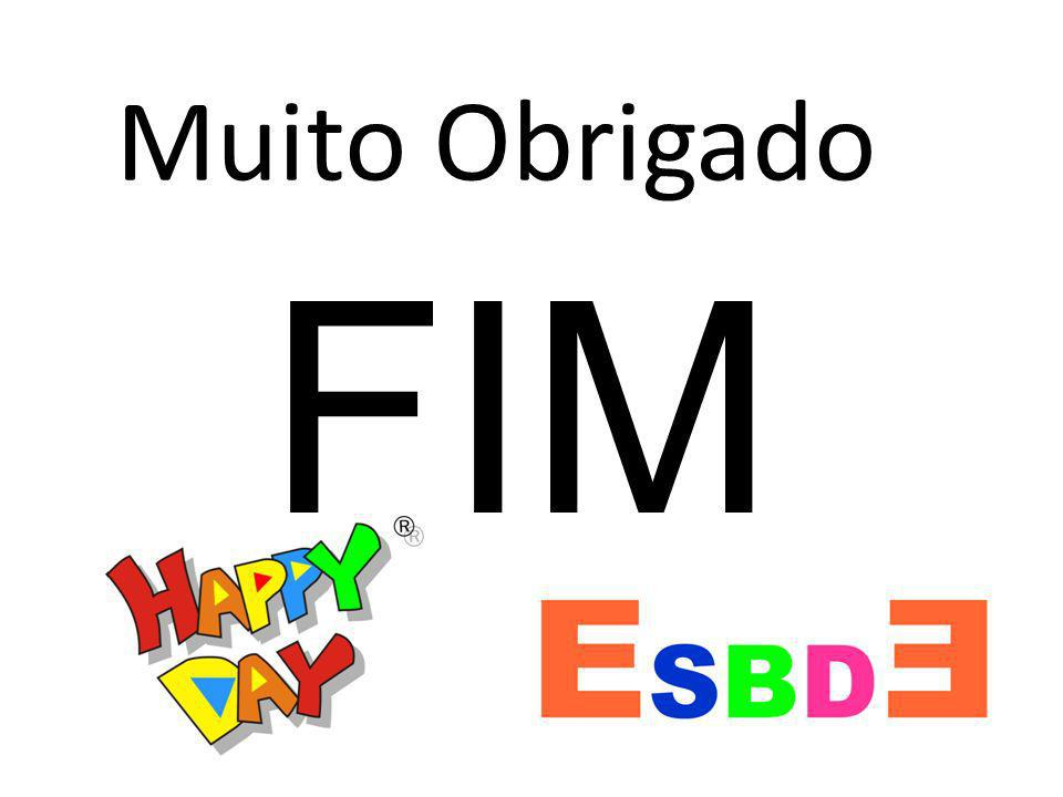 Muito Obrigado FIM