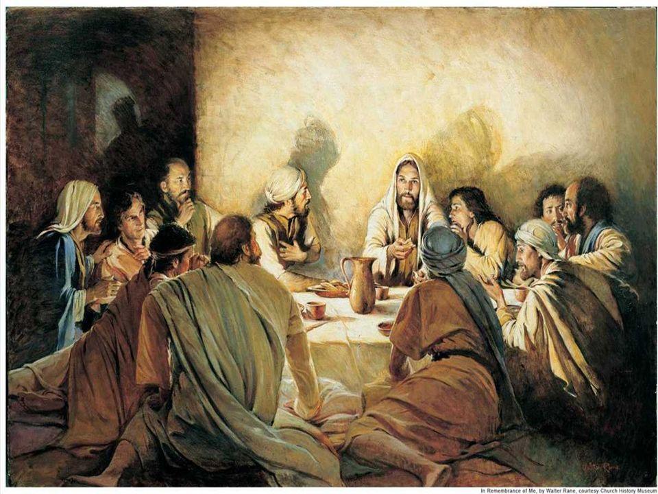 No Evangelho, Jesus, ao se despedir dos discípulos,
