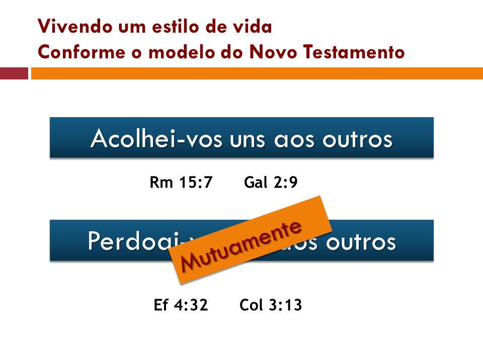 Vivendo um estilo de vida Conforme o modelo do Novo Testamento