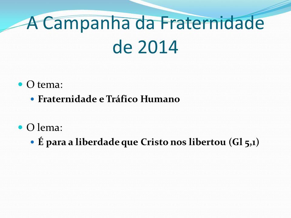 A Campanha da Fraternidade de 2014