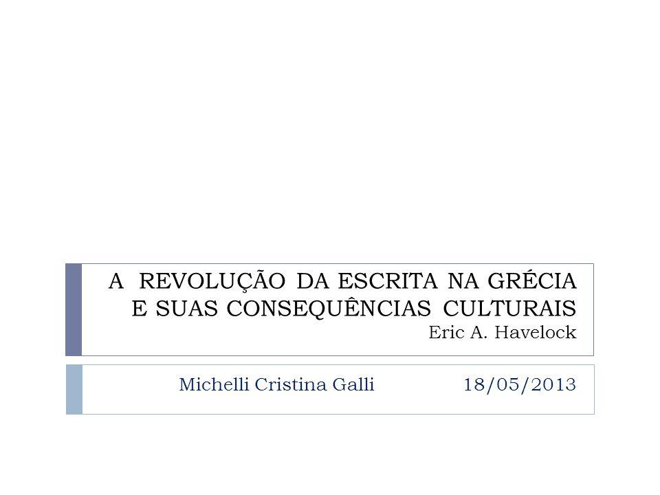 Michelli Cristina Galli 18/05/2013