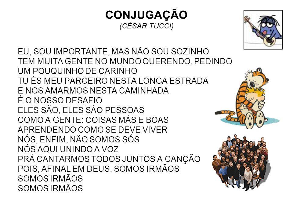 CONJUGAÇÃO (CÉSAR TUCCI)