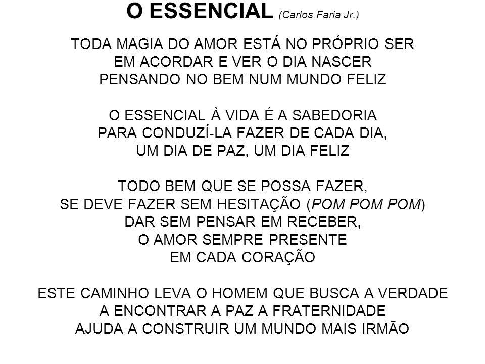 O ESSENCIAL (Carlos Faria Jr.)