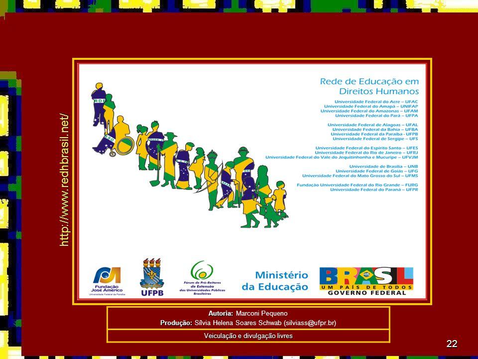 http://www.redhbrasil.net/ Autoria: Marconi Pequeno
