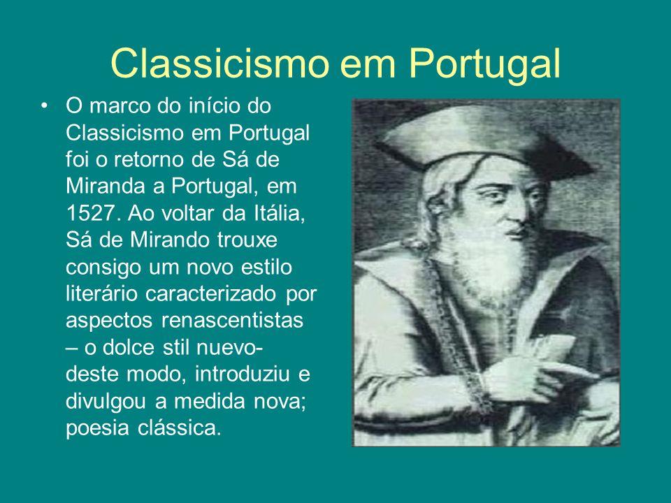 Classicismo em Portugal