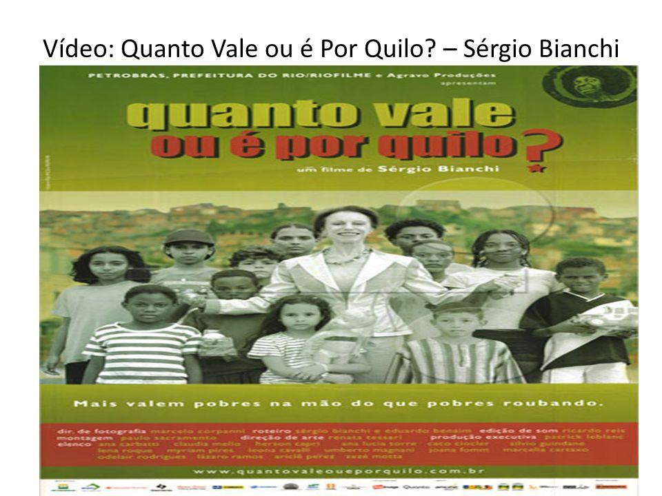 Vídeo: Quanto Vale ou é Por Quilo – Sérgio Bianchi