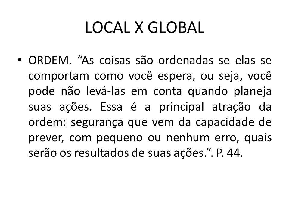 LOCAL X GLOBAL