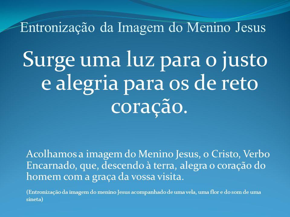 Entronização da Imagem do Menino Jesus