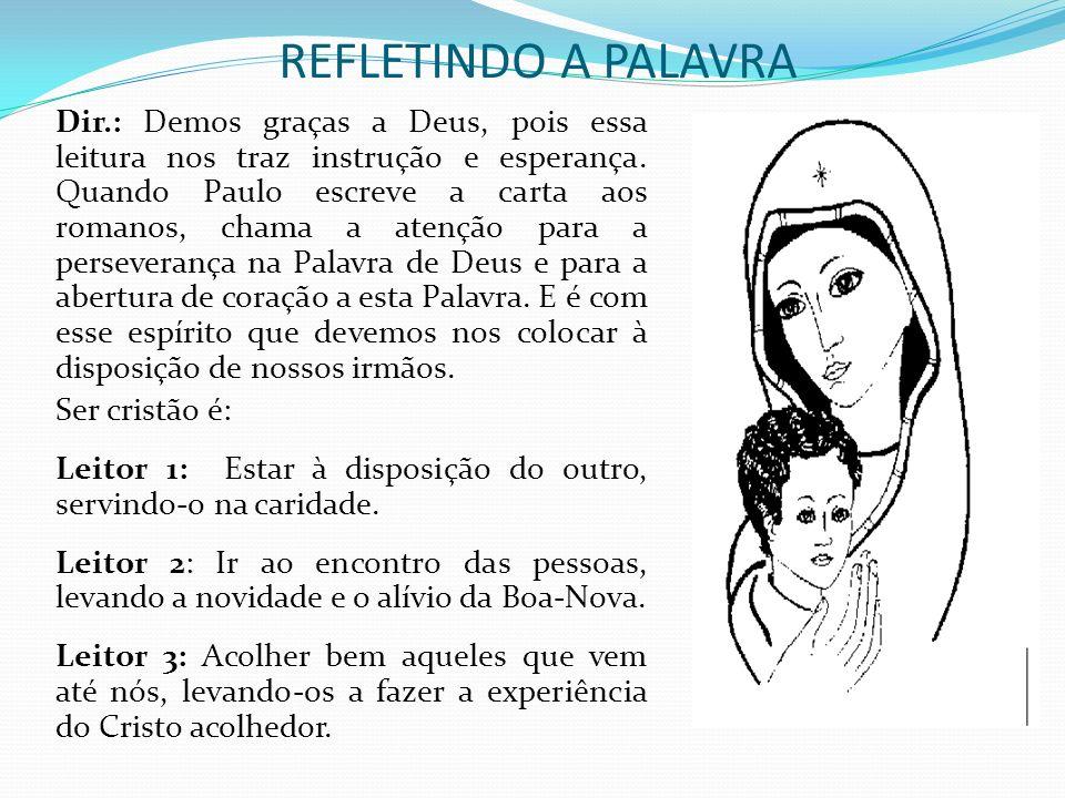 REFLETINDO A PALAVRA