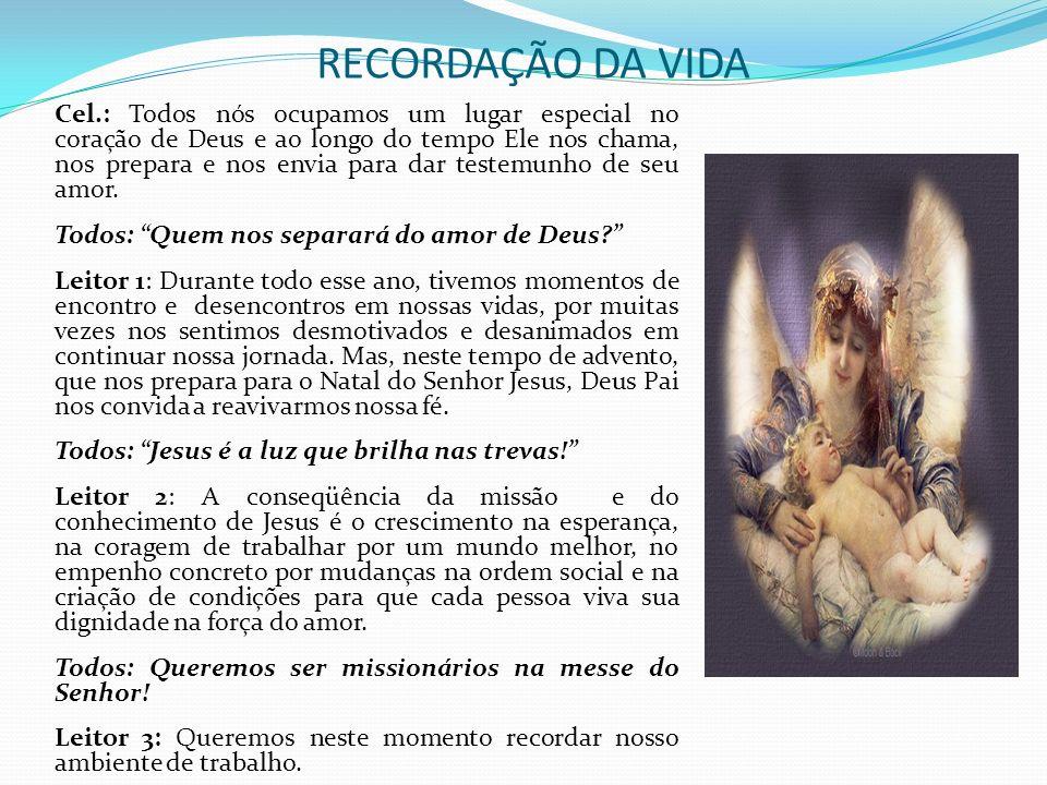 RECORDAÇÃO DA VIDA