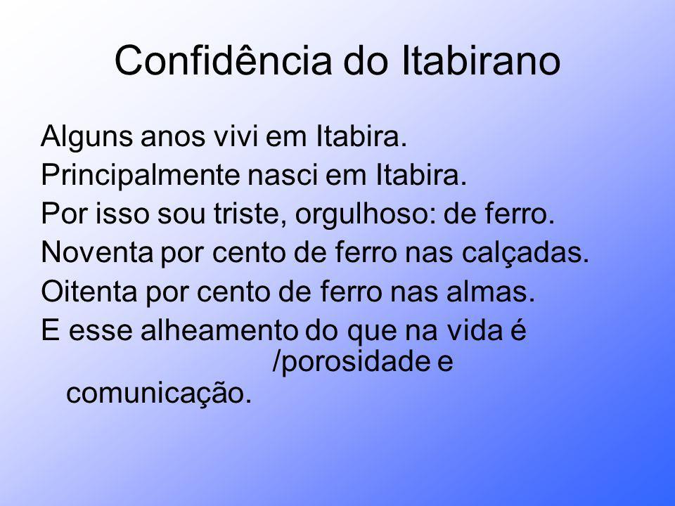 Confidência do Itabirano
