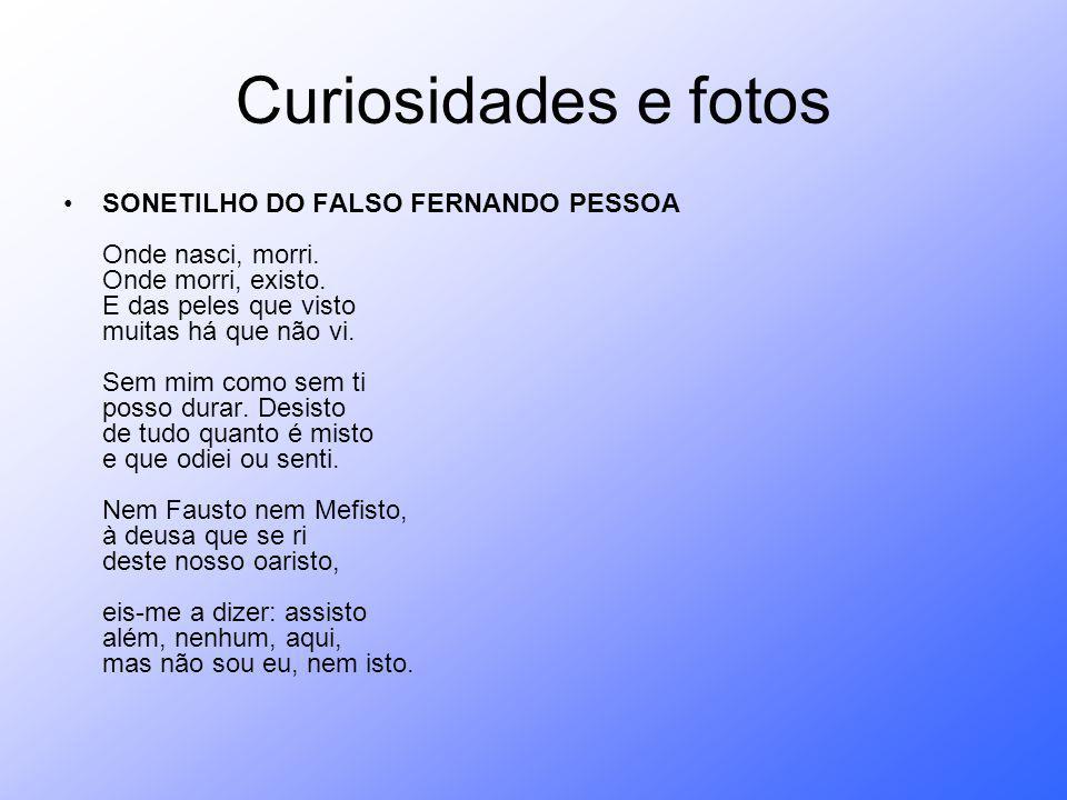Curiosidades e fotos