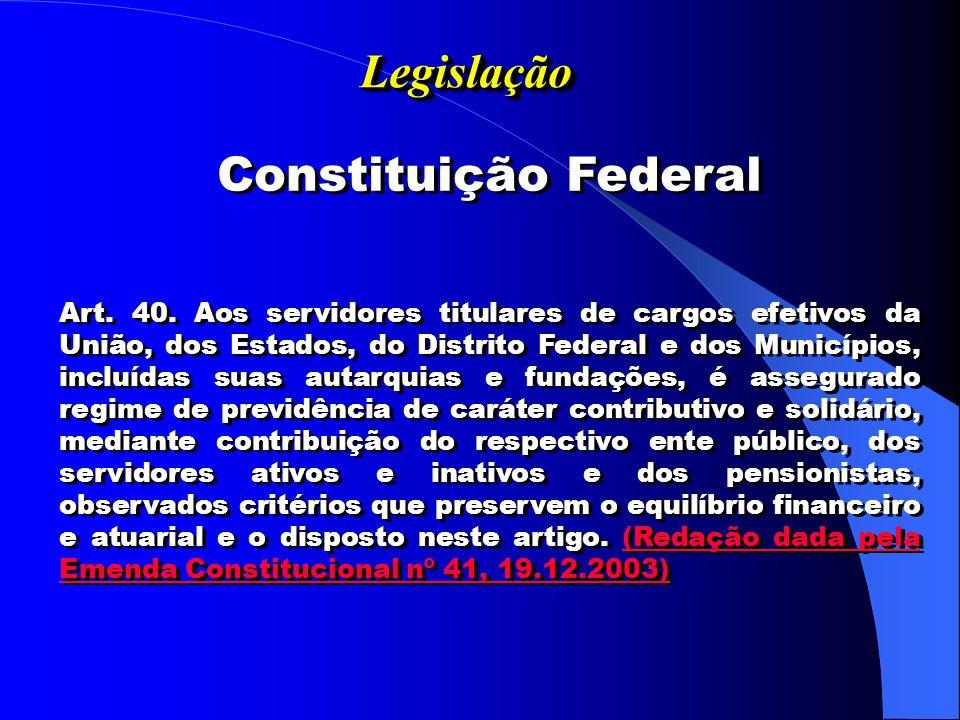 Legislação Constituição Federal