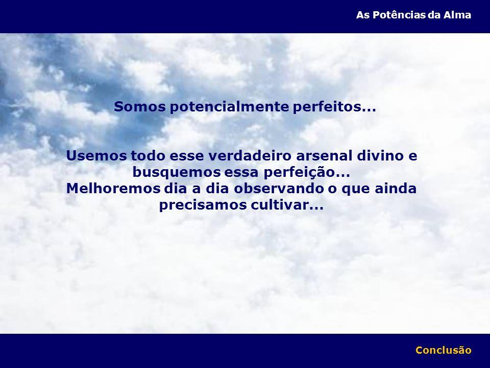 Somos potencialmente perfeitos...