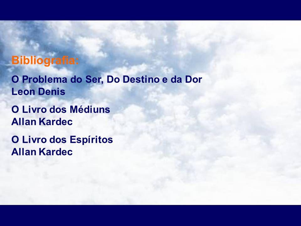 Bibliografia: O Problema do Ser, Do Destino e da Dor Leon Denis