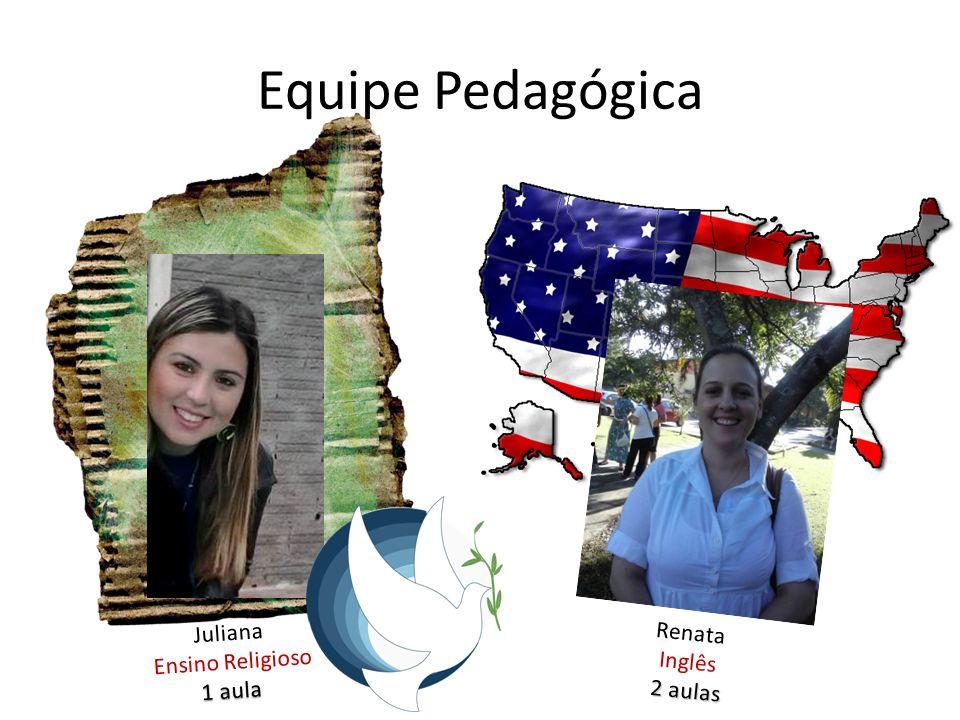 Equipe Pedagógica Juliana Renata Ensino Religioso Inglês 1 aula