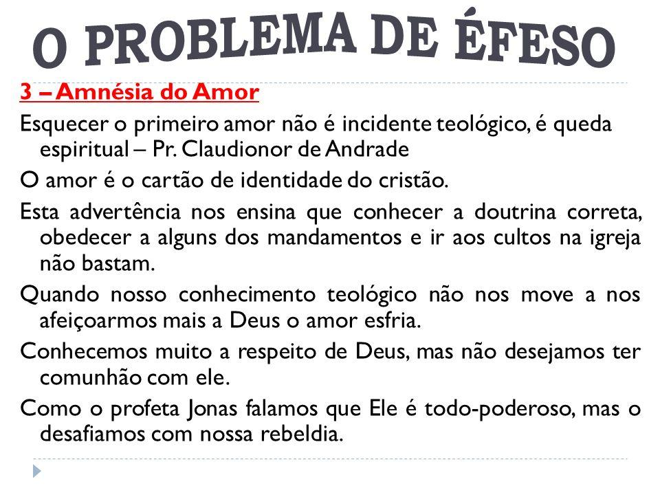 O PROBLEMA DE ÉFESO