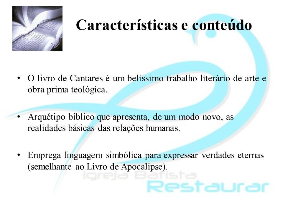 Características e conteúdo
