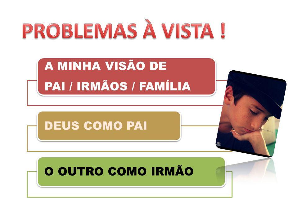 PROBLEMAS À VISTA ! A MINHA VISÃO DE PAI / IRMÃOS / FAMÍLIA