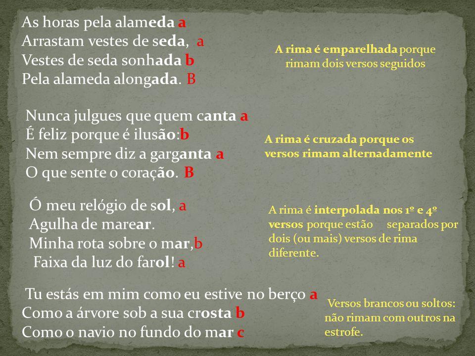 A rima é emparelhada porque rimam dois versos seguidos