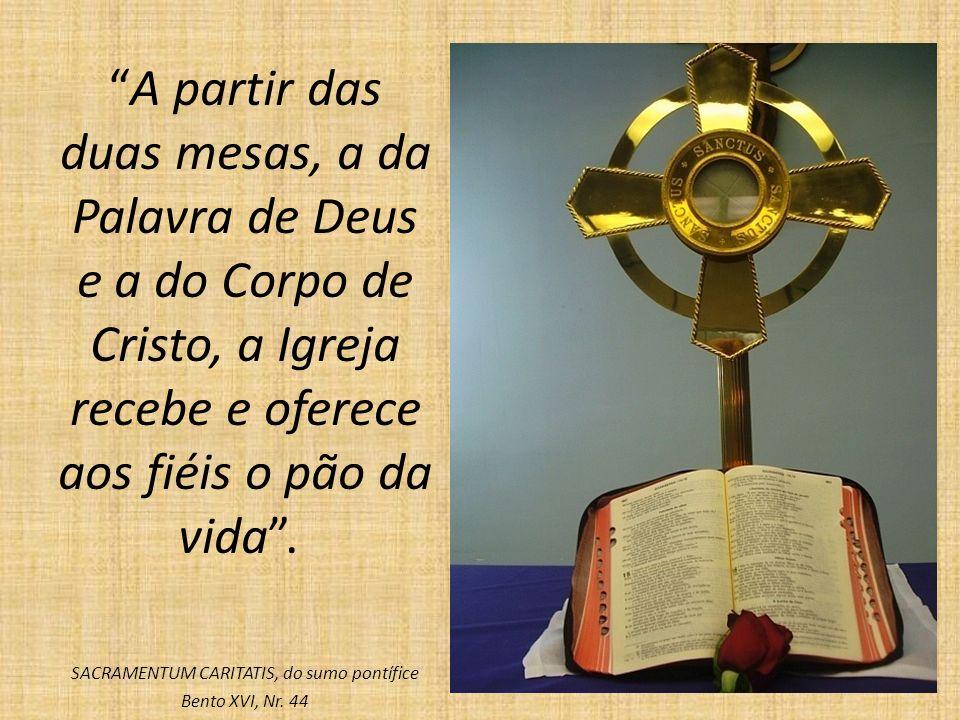 SACRAMENTUM CARITATIS, do sumo pontífice Bento XVI, Nr. 44