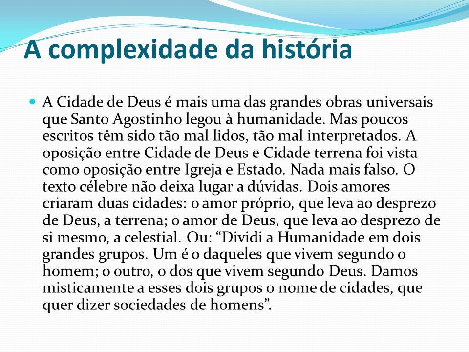 A complexidade da história