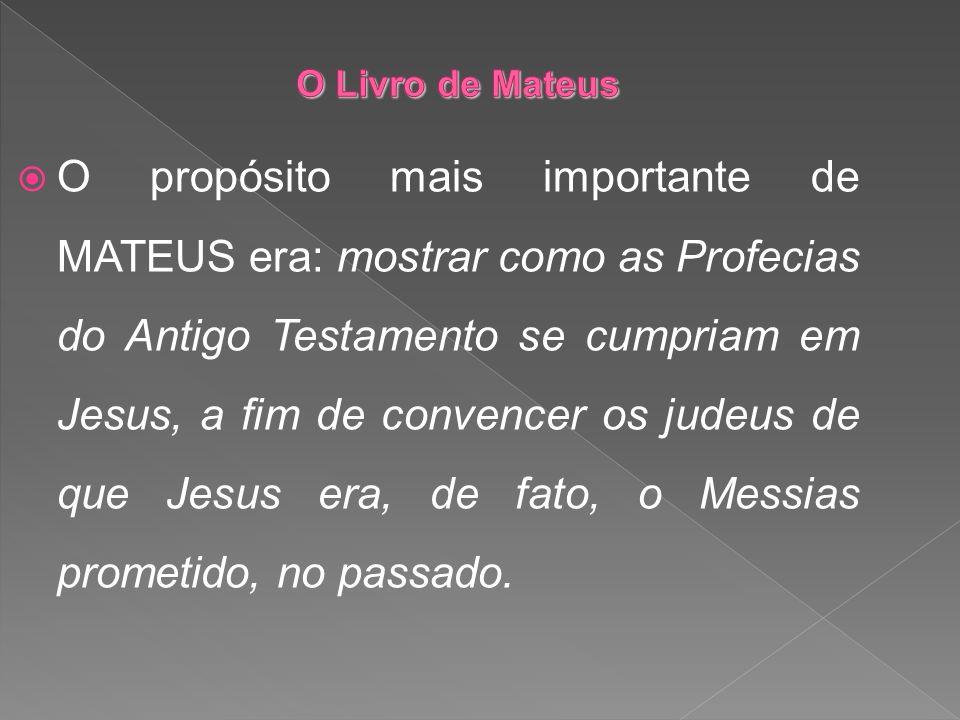 O Livro de Mateus