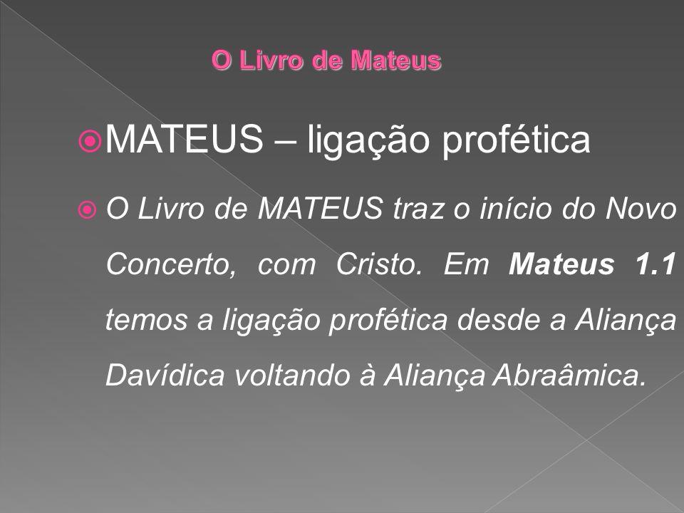 MATEUS – ligação profética