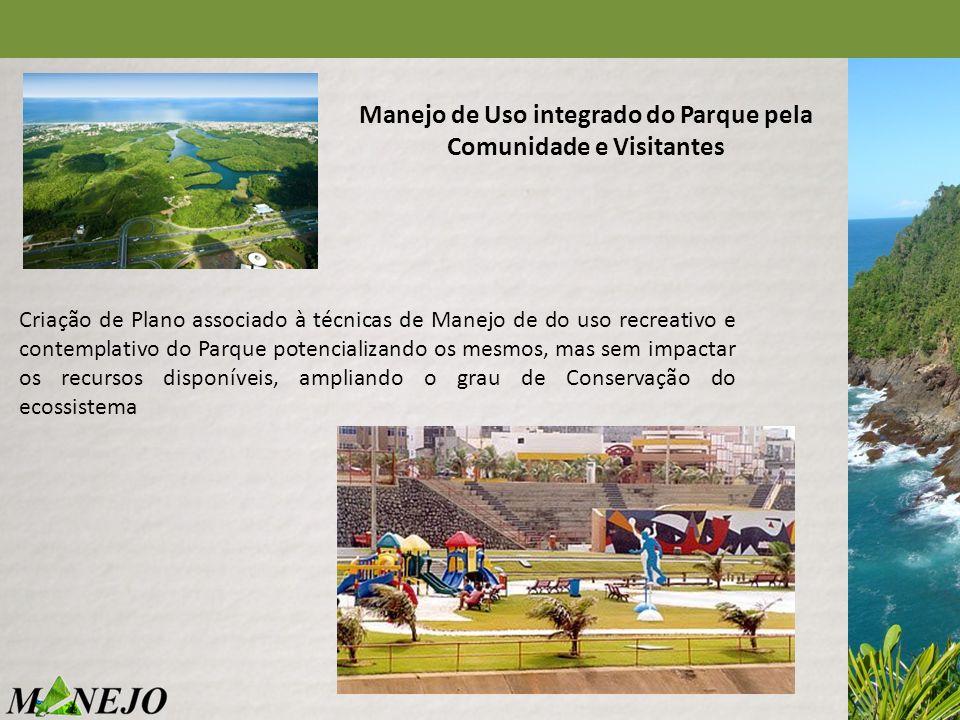 Manejo de Uso integrado do Parque pela Comunidade e Visitantes
