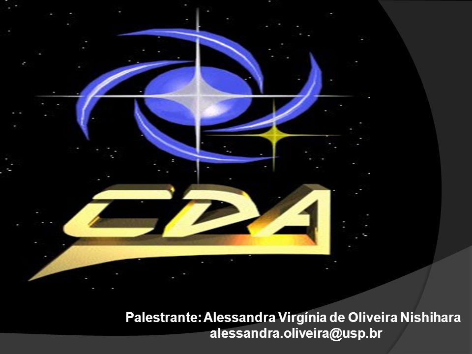 Palestrante: Alessandra Virgínia de Oliveira Nishihara
