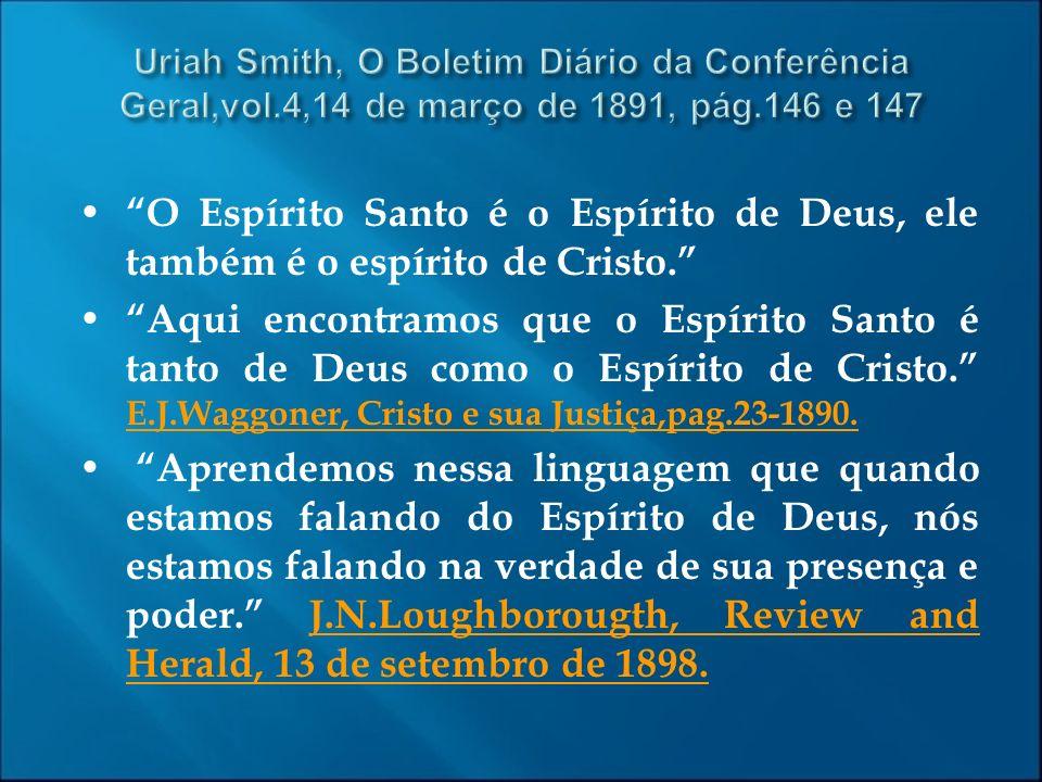 Uriah Smith, O Boletim Diário da Conferência Geral,vol