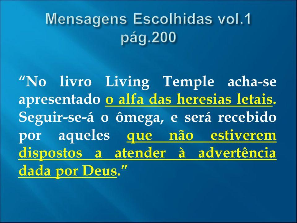 Mensagens Escolhidas vol.1 pág.200